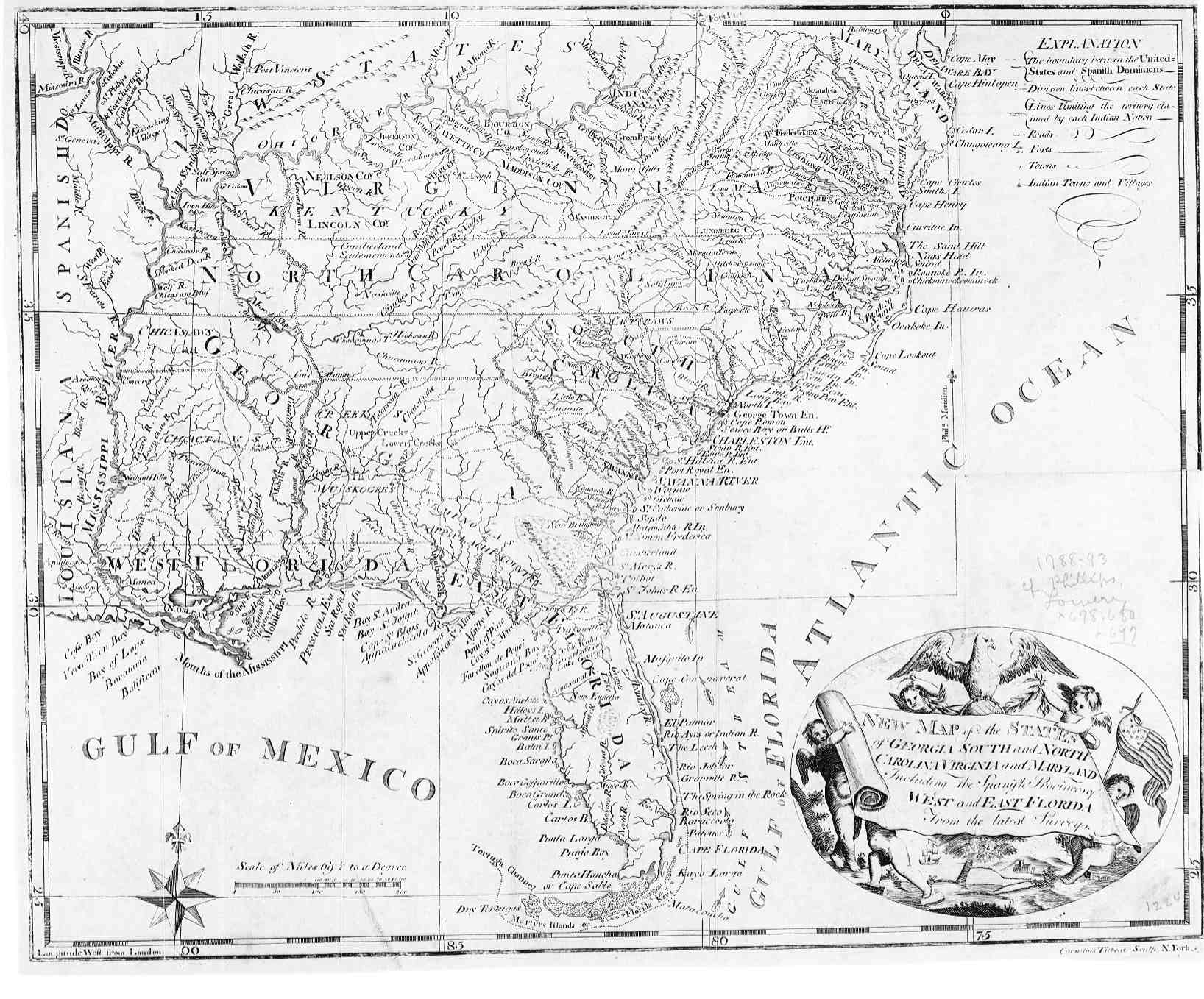 Map Of Georgia 1830.The Usgenweb Archives Digital Map Library Georgia Maps Index