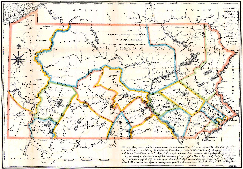 Pennsylvania County Usgs Maps